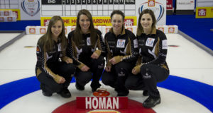 Skip: Rachel Homan Third: Emma Miskew Second: Joanne Courtney Lead: Lisa Weagle Curling Canada/michael burns photo