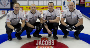 Skip: Brad Jacobs Third: Ryan Fry Second: E.J. Harnden Lead: Ryan Harnden Curling Canada/michael burns photo