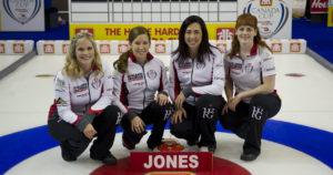 Skip: Jennifer Jones Third: Kaitlyn Lawes Second: Jill Officer Lead: Dawn McEwen Curling Canada/michael burns photo