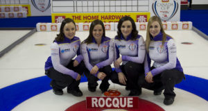 Skip: Kelsey Rocque Third: Laura Crocker Second: Taylor McDonald Lead: Jennifer Gates Curling Canada/michael burns photo